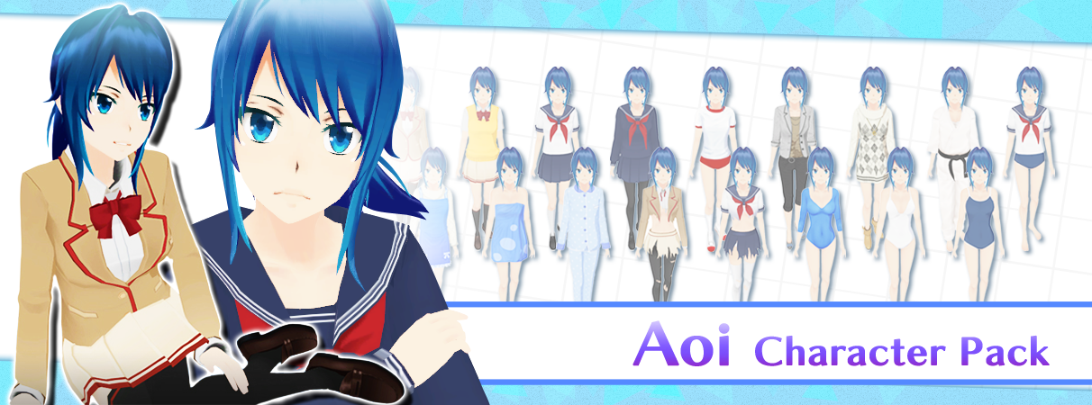 Aoi Character Pack
